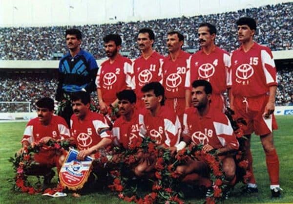 پرسپولیس و فینال جام در جام آسیا ۱۹۹۳