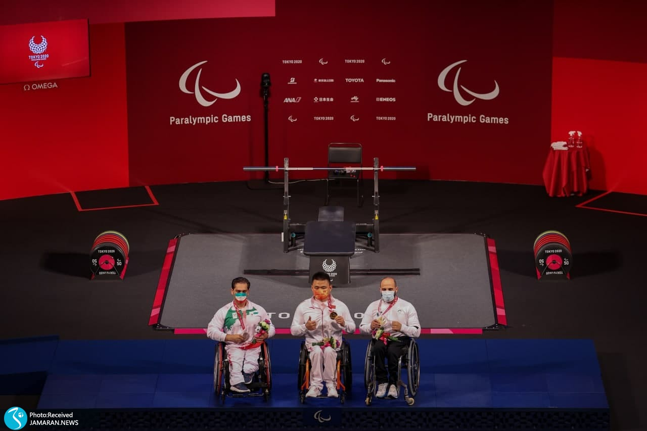 پارالمپیک 2020 وزنه برداری - امیر جعفری