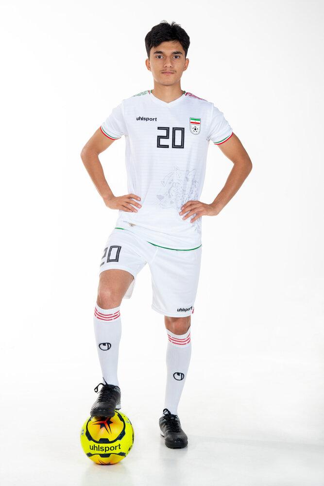 پیراهن جدید تیم ملی فوتبال ایران برای مقدماتی جامجهانی
