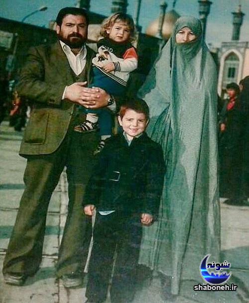 عکس های کودکی علی انصاریان