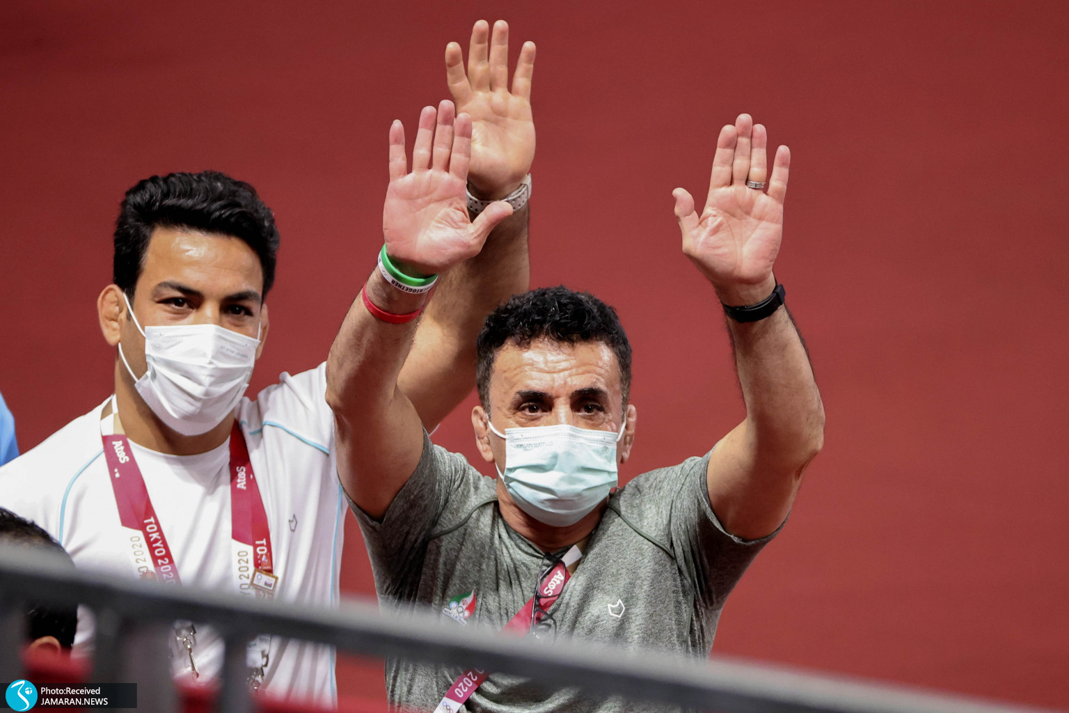 محمدهادی ساروی در کشتی فرنگی المپیک محمد بنا حبیب الله اخلاقی