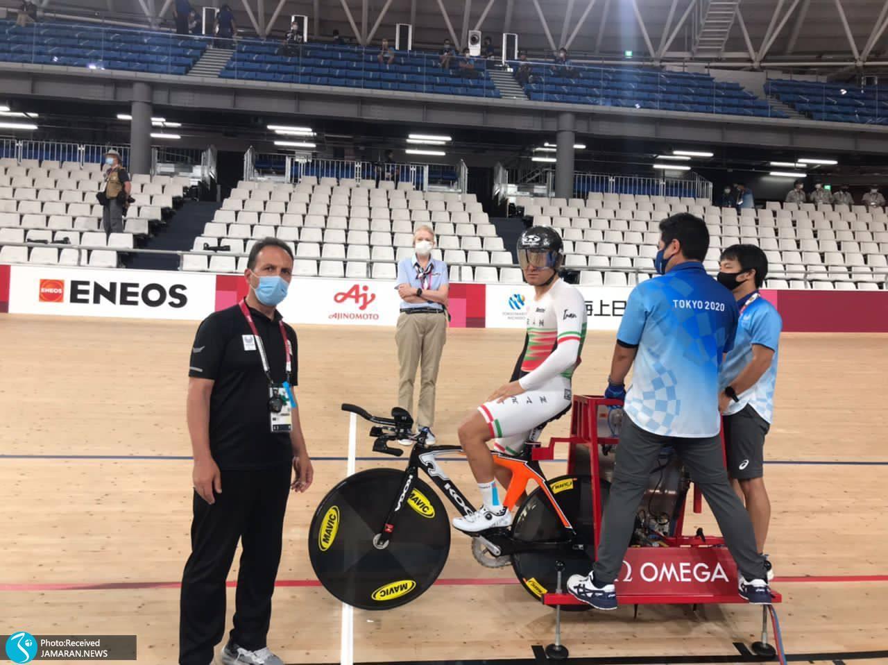 مهدی محمدی در دوچرخه سواری پارالمپیک