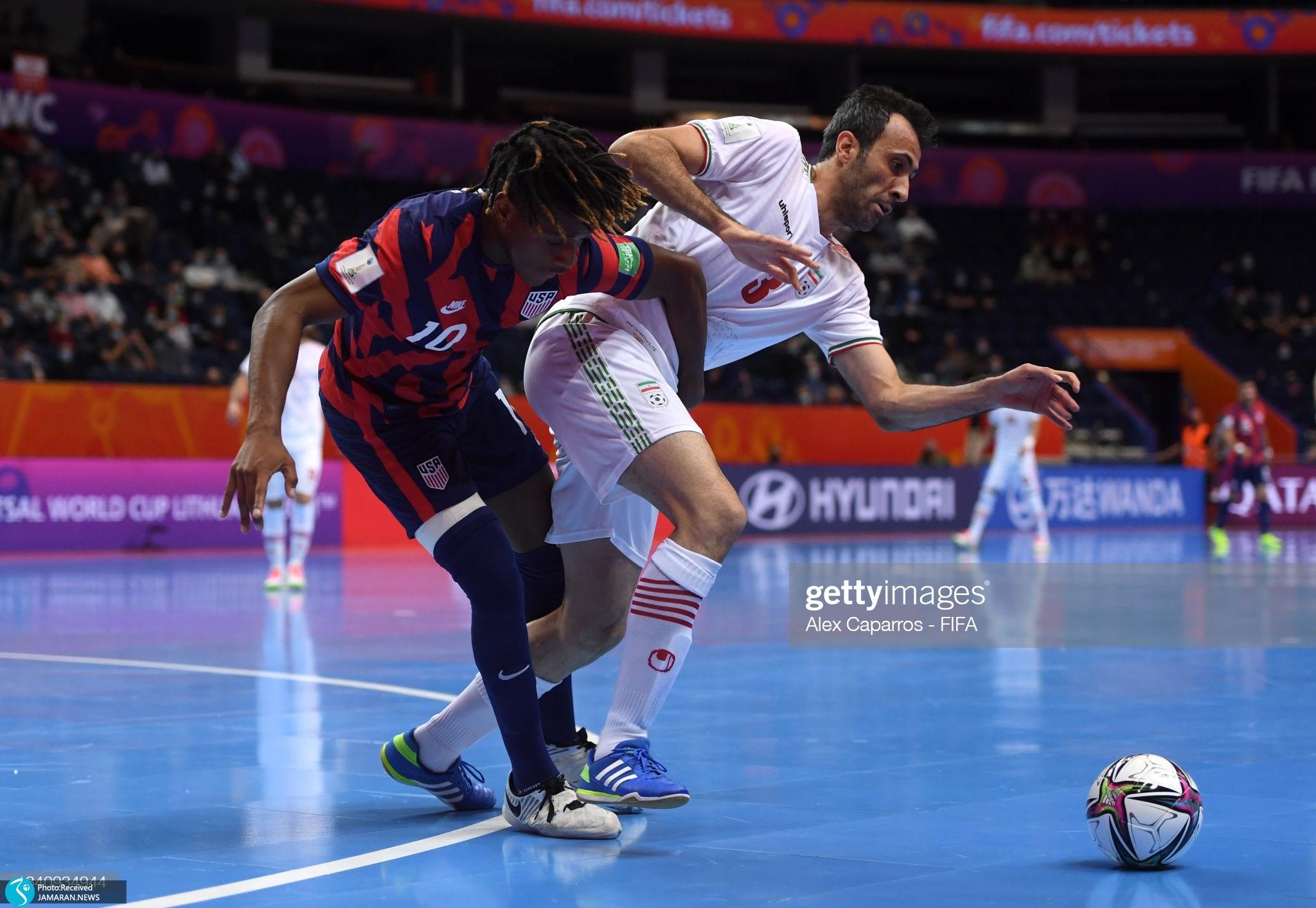 جام جهانی فوتسال 2021 - ایران - آمریکا
