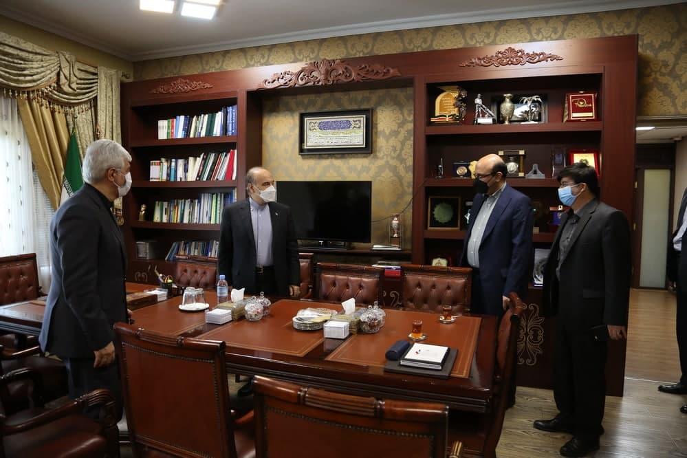 حضور حمید سجادی در وزارت ورزش