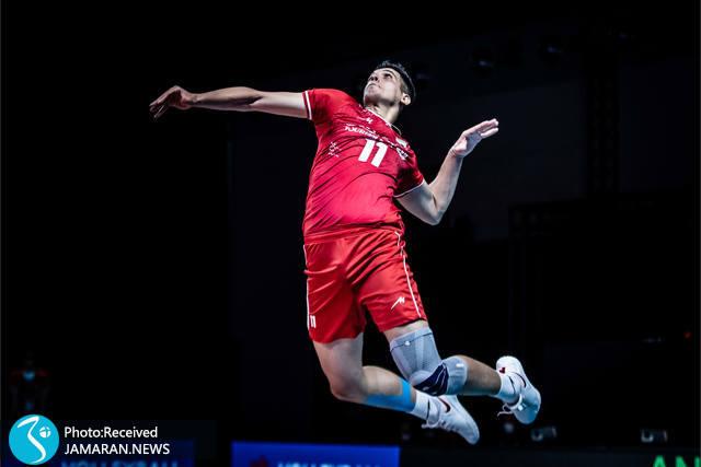 صابر کاظمی لیگ ملت های والیبال 2012- تیم ملی والیبال ایران - ایران و آمریکا