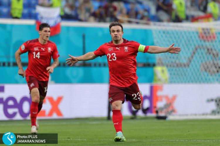 یورو ۲۰۲۰ - سوئیس و اسپانیا