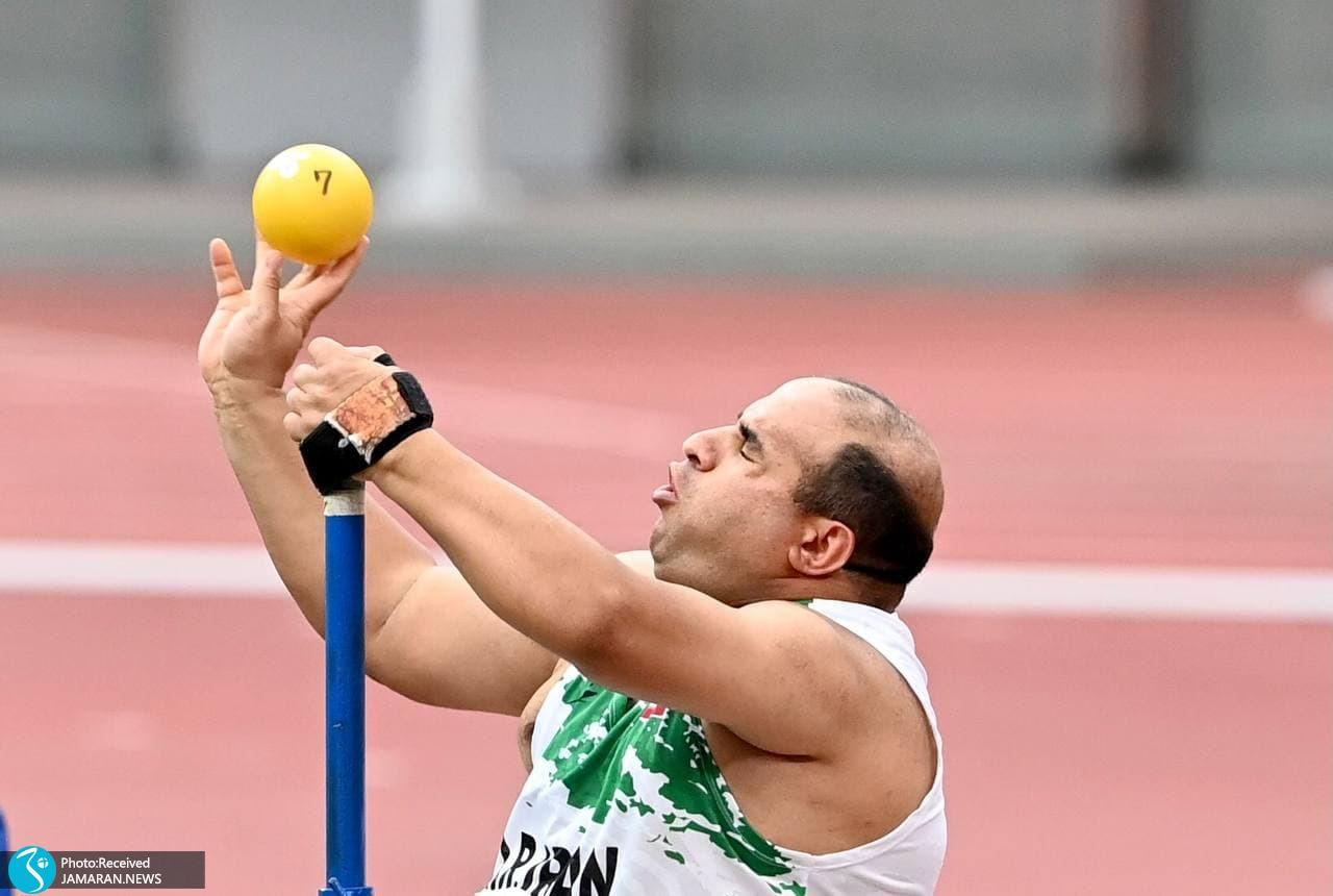پارادوومیدانی ایران در پارالمپیک توکیو علیرضا مختاری پرتابگر وزنه