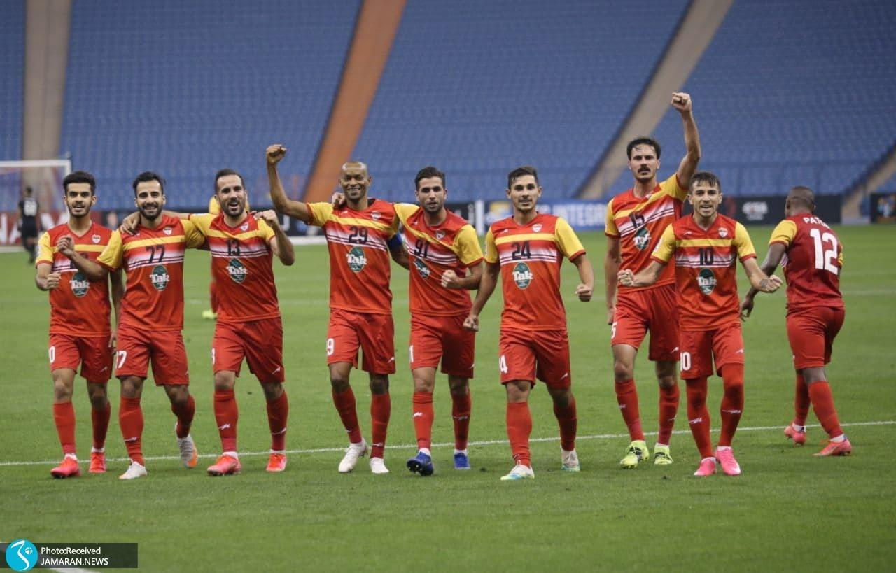 لیگ قهرمانان آسیا فولاد خوزستان الوحدات اردن