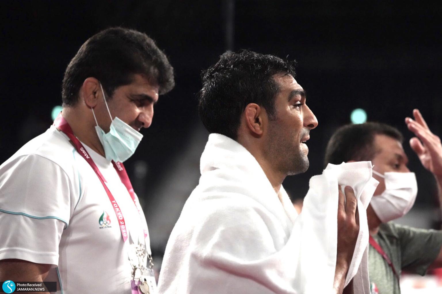 مصطفی حسین خانی کشتی آزاد المپیک