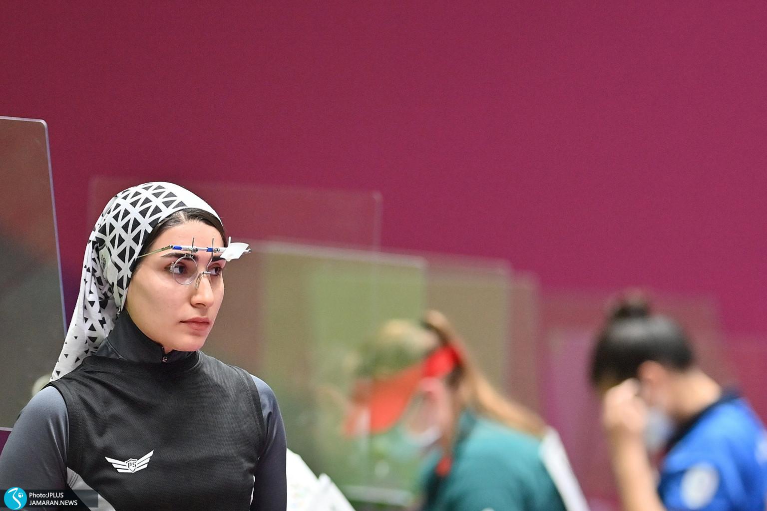 هانیه رستمیان/ تپانه المپیک