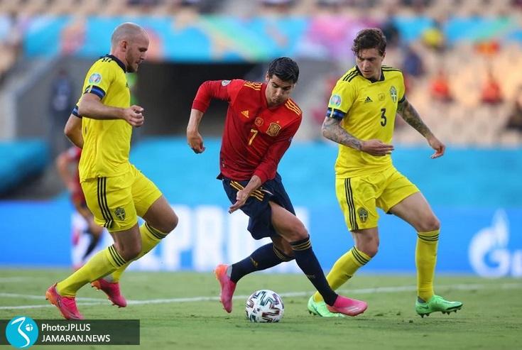 یورو 2020 - اسپانیا و سوئد - آلوارو موراتا
