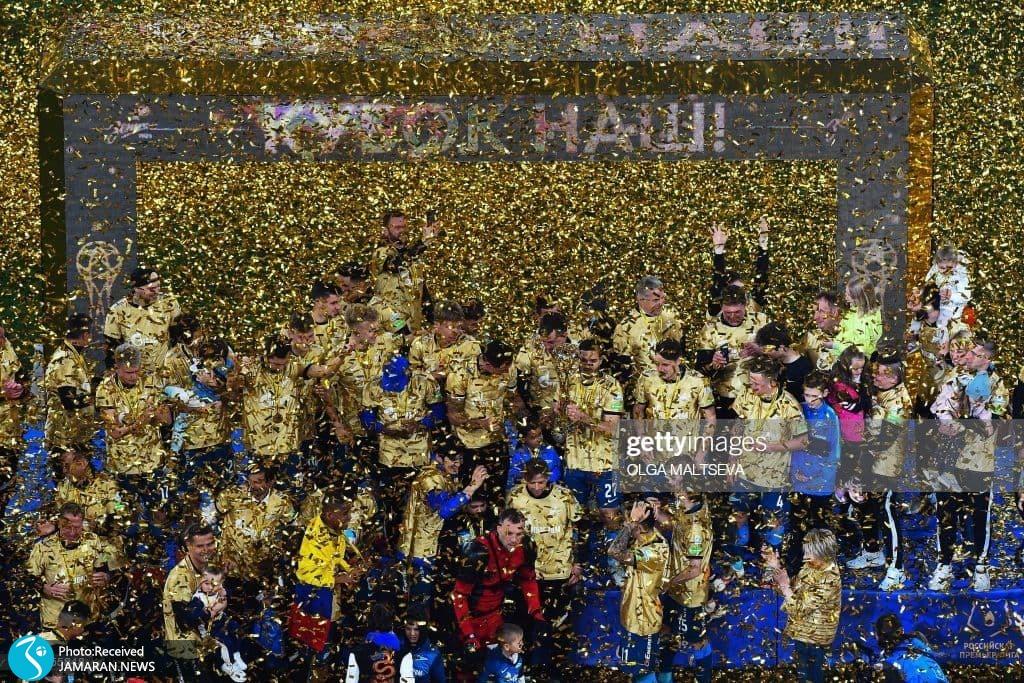 مراسم اهدای جام زنیت سن پترزبورگ در روسیه