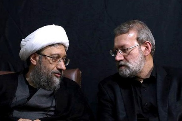 علی لاریجانی صادق آملی لاریجانی