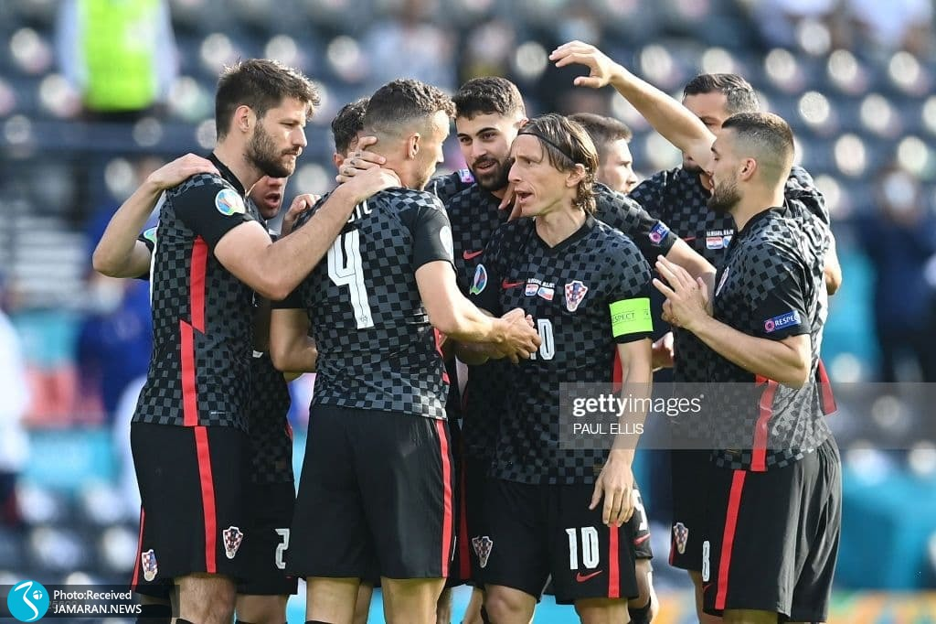 یورو 2020 - تیم فوتبال کرواسی و جمهوری چک