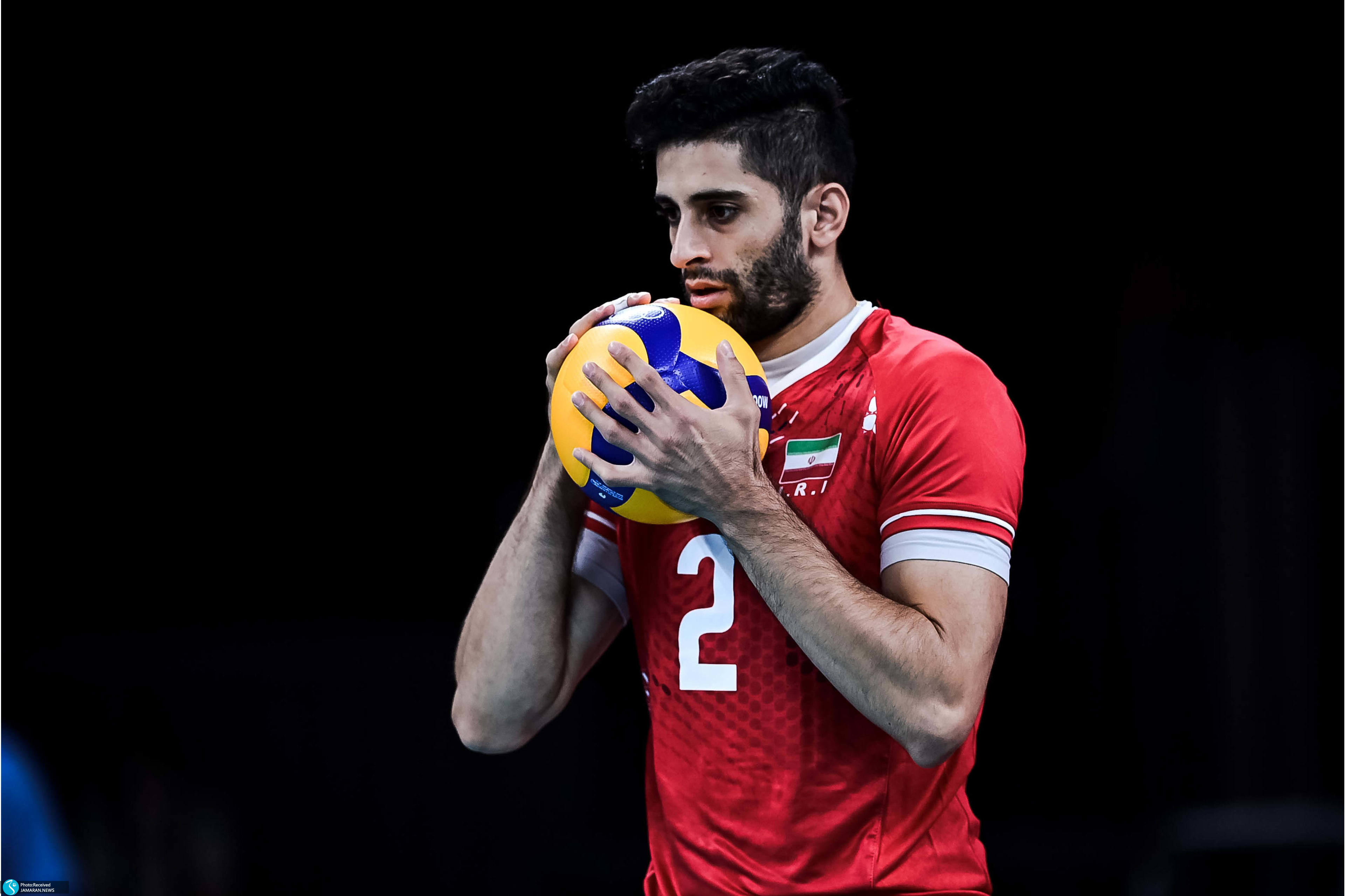 میلاد عبادی پور والیبال ایران و ونزوئلا در المپیک ۲۰۲۰ توکیو