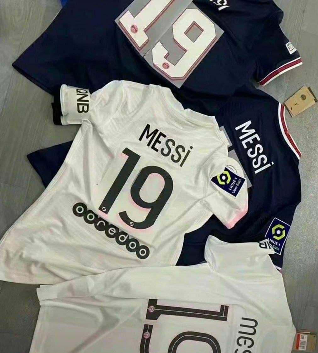 شماره پیراهن مسی در پاری سن ژرمن