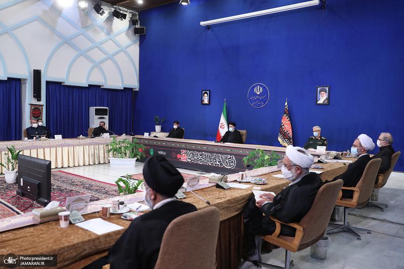 جلسه ستاد ملی مقابله با کرونا-23 مرداد 1400