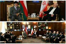 دیدار کوتاه وزاری خارجه ایران و عمان برگزار شد