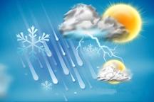 کاهش دما، بارندگی و وزش باد شدید در گیلان