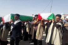 پیکرهای مطهر 118 شهید دفاع مقدس به کشور بازگشت