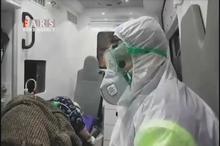 عملیات ویژه انتقال بیمار کرونایی به بیمارستان