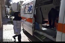امدادرسانی اورژانس به ۱۱ مصدوم حوادث جادهای در قزوین