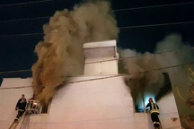 حادثه آتشسوزی در سینمای اهواز  اتصال برق کولر علت آتشسوزی  حادثه بدون تلفات جانی