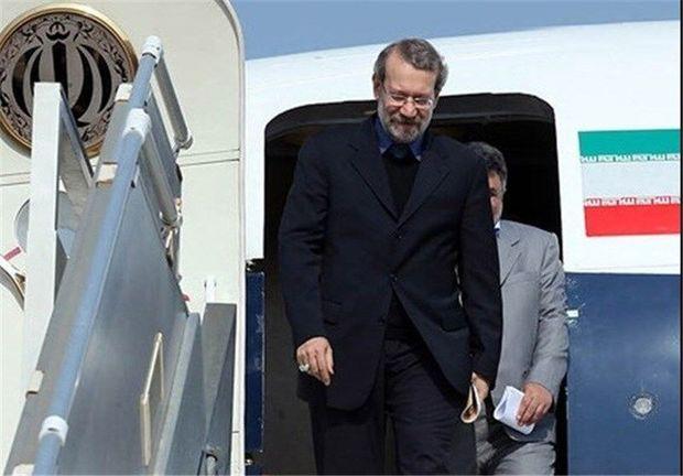 رییس مجلس شورای اسلامی  وارد فرودگاه ارومیه شد