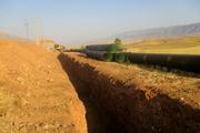 پیشرفت 40 درصدی پروژه آبیاری دشت سیروان