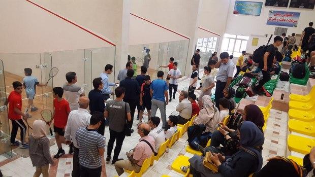 میزبانی مسابقات اسکواش قهرمانی کشور برای اولین بار در استان قم