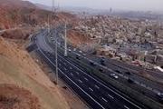 نگرانی از فرونشست اتوبان پاسداران تبریز