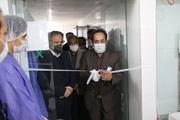 خط تولید ماسک سه لایه در شهرک صنعتی مشهد بهرهبرداری شد