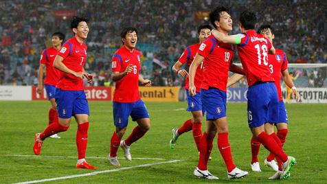 برد تیم ملی کره جنوبی مقابل ازبکستان در دیداری دوستانه