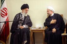 رئیسجمهور روحانی سال ۱۳۹۷ را به رهبر معظم انقلاب تبریک گفت