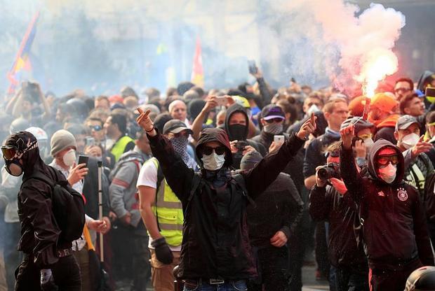 اعتراض«جلیقه زردها»ی فرانسه در سایه نخستین سالروز تشکیل این جنبش