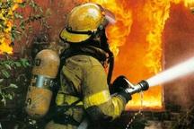 آتش سوزی منزل مسکونی در خیابان لاهور اصفهان تلفات جانی نداشت