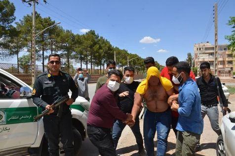 بازداشت خرس شرور در کرمان + عکس