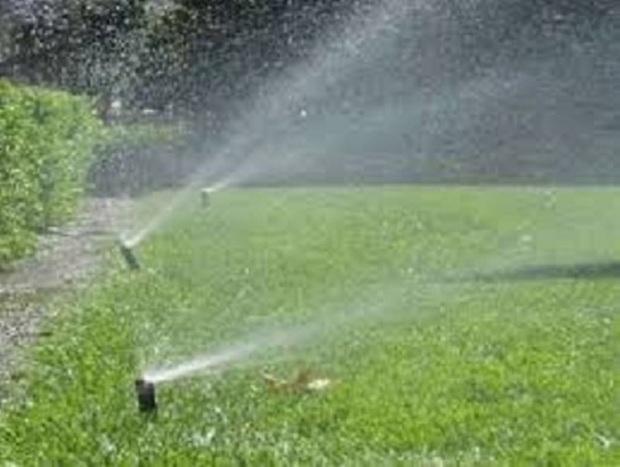 70 درصد فضای سبز ریگان به سیستم نوین آبیاری مجهز شد