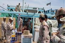 شناور حامل کالای قاچاق در بندرلنگه توقیف شد