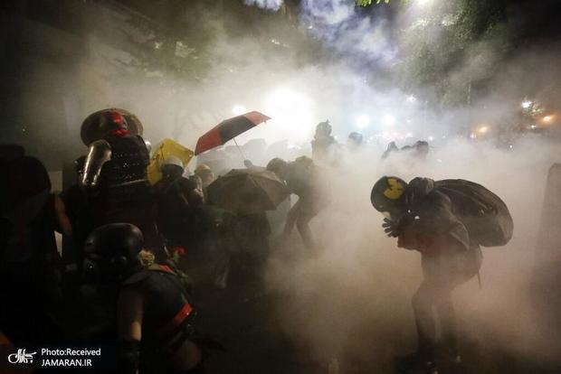 جنگ داخلی در آمریکا: ترامپ رو در روی مقامات ایالتی