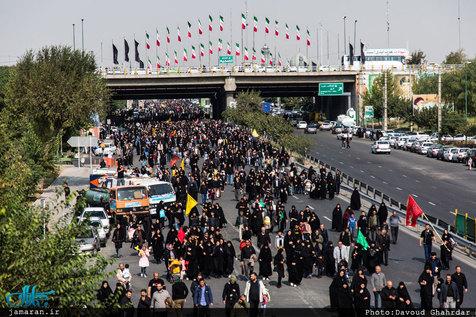 عبور ۸۳۵ کامیون حامل اقلام مواکب ایرانی در عراق از مرز شلمچه