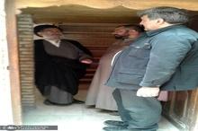 بازدید پیروز حناچی از منزل مسکونی امام خمینی(س) در نجف اشرف