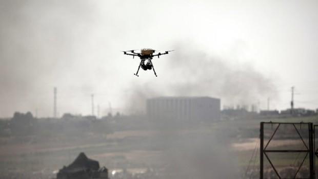 پرواز پهپادهای حماس بر فراز سرزمین های اشغالی