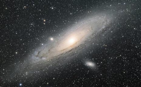 20 سال چرخش ستاره ها در کهکشان راه شیری + ویدیو