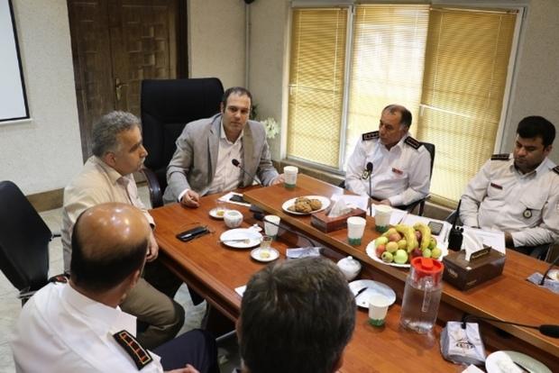 دبیرخانه آتش نشانی های شرق گیلان در لاهیجان تشکیل می شود