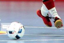 شکست سنگین تیم فوتسال بانوان نامی نو اصفهان از سایپای تهران