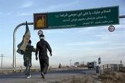 زائران پیاده در غرب خراسان رضوی معاینه میشوند