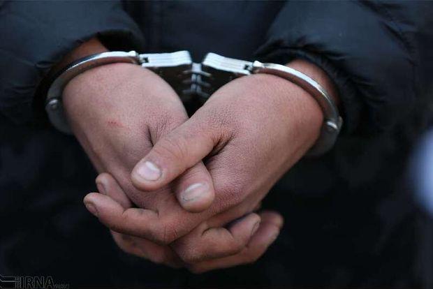شکارچی متخلف کبک در بوکان دستگیر شد