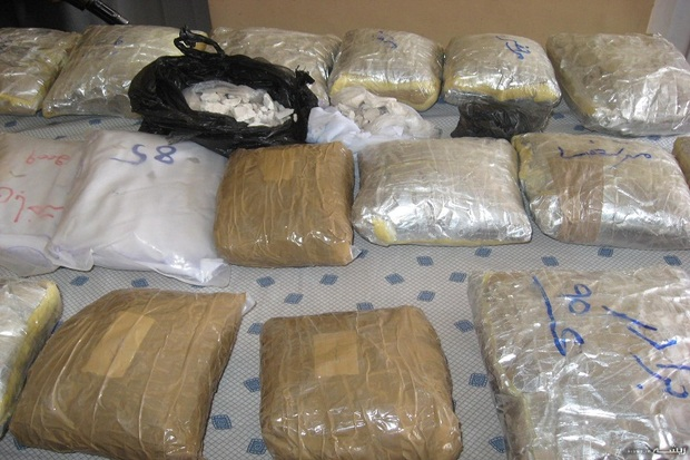 1،7 تن انواع مواد مخدر در سراوان کشف شد