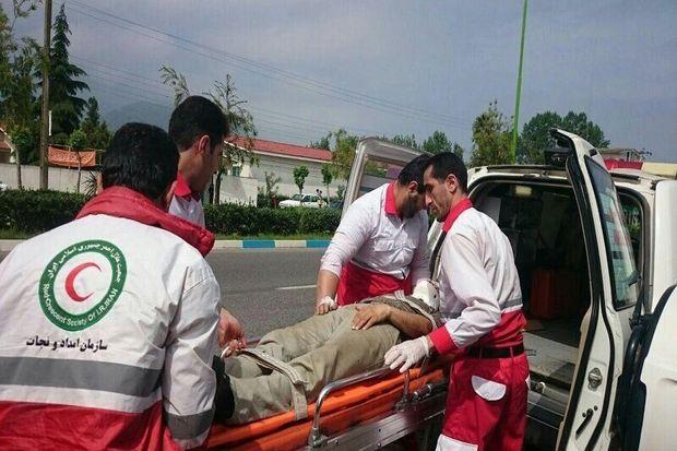 امدادرسانی به ۱۳۴ مصدوم سوانح جادهای توسط هلال احمر دماوند